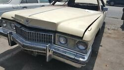 72 Cadillac Coupe De Ville Front End Used