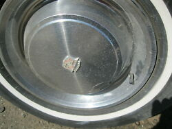72 Cadillac 15 Inch Used Wheels 4 With Hub Caps Tires Free Pickups Only