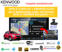 Kenwood Dnx9190dabs For Holden Trax 2013-2017 Tj -stereo Upgrade