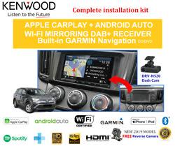 Kenwood Dnx9190dabs For Car Stereo Upgrade To Suit Toyota Rav4 2013-2018 Amp