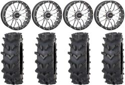 System 3 St-3 Machined 20 Wheels 36 Outback Maxand039d Tires Sportsman Rzr Ranger