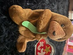 Ty Beanie Baby Seaweed Mint Condition Rare Ty Tag Errors. Reg 2086484