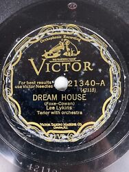 10 78 Rpm-lee Lykins-dream House/if I Should Lose You/victor 21340