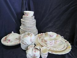 Copeland Spode Fairy Dell Made In England Vintage Fine Chinaset 86 Piece
