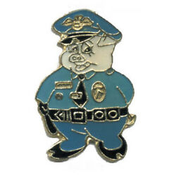 Wholesale Lot Of 12 Pig Policeman Cop Lapel Hat Pins Fast Usa Shipping
