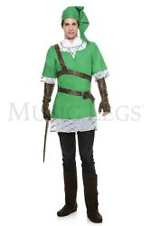 Music Legs Big Hearted Elf Halloween Adult Men Costume 76645 Party Clothing