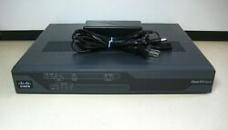 Cisco 800 Series   C881w-a-k9 V01   Integrated Services Router
