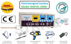 Digital Electrosurgical Unit 250watt With Foot Switch Control Micro Control Base