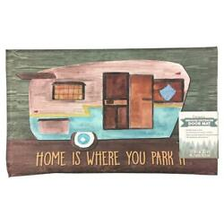 Stephan Roberts Home Is Where You Park It Accent Rug 18 X 30