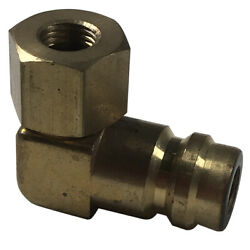 5 Fjc 2633 A/c High Side 90anddeg Degree 3/16 R12 To R134a Retrofit Adapter Fitting