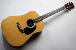 Used 2000 Martin D-28 Lefty Mod Nat Acoustic Electric Guitar Sitka Spruce Top