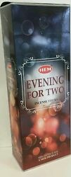 HEM Incense Evening For Two 120 Sticks Free Shipping $9.15