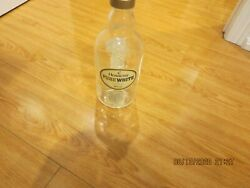 Collectable Empty Liquor Bottle Hennessy Pure White Cognac Made France 700 Ml