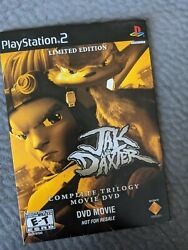 Jak And Daxter Limited Edition Complete Trilogy Movie Dvd Sony Playstationp
