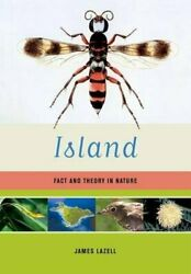 Island Fact And Theory In Nature By James Lazell - Hardcover Brand New