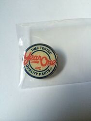 Vintage Year One Quality Parts Muscle Auto Car Metal Lapel Hat Tie Pin Back Tack