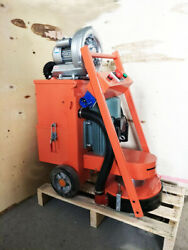 220v Concrete Floor Grinder With Fan,industry Tools Heavy Duty, Us Stock