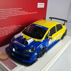 1/18 Onemodel Honda Civic Type-r Fd2 Spoon Sport Usa With Display Case