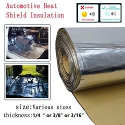 Car Heat Shield Insulation Sound Dampening Thermal And Noise Deadening Barrier