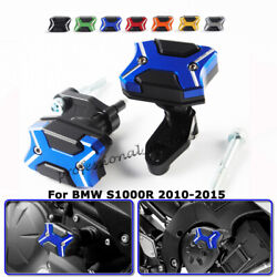 For Bmw S1000r 2010-2015 Frame Slider Crash Pad Protector Anti-drop Ball Blue