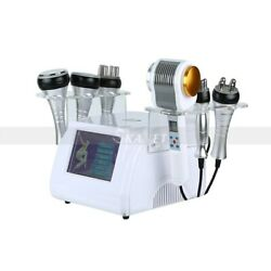 6 In 1 Ultrasound 40k Vacuum Cold Hot Hammer Face And Body Slim Beauty Machine