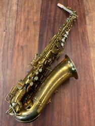 Pre-owned Buescher Aristocrat Alto Saxophone 283833 Repadded Perfect Ships Free