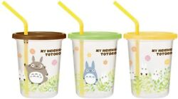 Ghibli My Neighbor Totoro Spill Free Cups | 3 Cups | Made In Japan | Us Seller