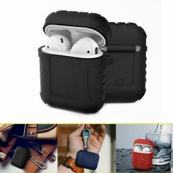 AirPods Portable Case Wireless Earphone 360° Protective Shockproof SiliconeCover $6.89
