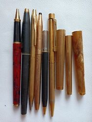 💢💢sell All Cross Sheaffer, Dupont Pen Mix Spare Parts For Restoration Only 💥