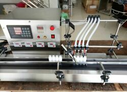 New Four Heads Liquid Filling Machine Full Automatic Filling 3l Large Flow Y