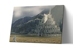 Minas Tirith Lord Of The Ring Canvas Print Lotr Wall Art Artwork Painting Poster