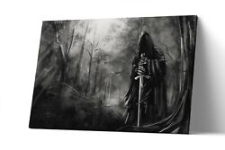 Nazgul Lord Of The Ring Canvas Print Lotr Wall Art Artwork Painting Poster