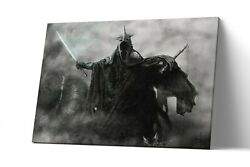 Nazgul Witch Lord Of The Ring Canvas Print Lotr Wall Art Artwork Painting Poster
