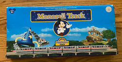 Disney Monorail Curved Track Set Euc Free Shipping