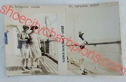 Lafayette-french Line Publicity Photographs E. Armstrong Roberts-c1930s Rare