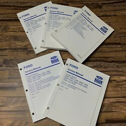 Ford Tractor 2000 3000 4000 5000 7000 Series Service Manual 1965-1975 Vol 1-5
