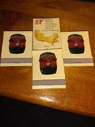 Matchbooks Southern Pacific New Unused Old Stock.       Z1/fr