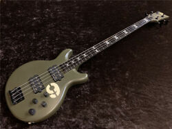 Used Esp B-380md Active Bass Duncan Pu 3-band Eq Great Playing Condition W/gb