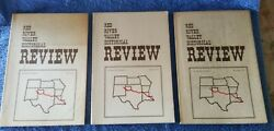 Lot Of 3 Red River Valley Historical Review 1978 Vol 3, Numbers 1, 2and4, Good