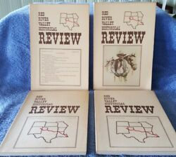 Red River Valley Historical Review 1975 Vol 2, Number 1-vol 2, Num 4, Vg Condit