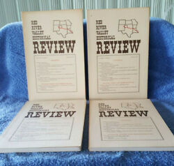 Red River Valley Historical Review 1974 First Year Vol 1, Number 1-vol 1, Num 4