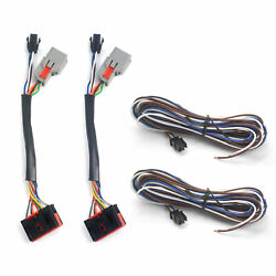 Pair 8 To 22 Pin Tow Mirror Wiring Adapter Harness For Ford F150 F-150 2015-2018