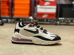 Nike Air Max 270 React Low Womens Shoes Tortoise Shell Cu4752-100 New Size 9.5