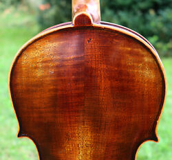 Listen Video Old Late19th Century Antique Germany Violin Full And Deep Sound