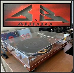 Jnb Audio Turntable Cover For A Micro Seiki Dd 40 Dd40 = Made In Usa =