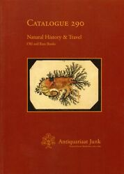 Antiquariaat Junk Auction Cetaloge Natural History And Travel Old And Rare Books