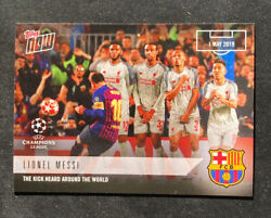 Lionel Messi -ucl Champions League- Fc Barcelona 2018-19 Topps Now 49 - Pr 236