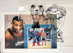 Mike Tyson And The X-menand039s Apocalypse - Marvel Animation Cel