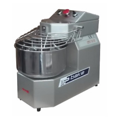 Spiral Mixer Isp15 15kg Top Of The Range - 10 Speed - Made In Italy 66-300rpm