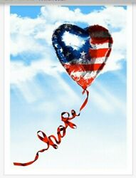 Mr. Brainwash Hope American Flag Edition Of 95 Limited Edition Sold Out